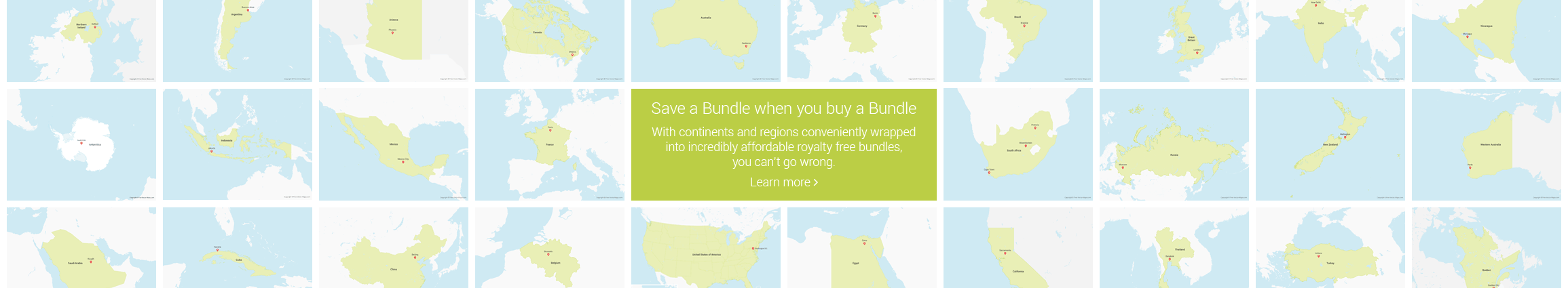 Free vector maps royalty free vector maps save a bundle when you buy a bundle gumiabroncs Image collections