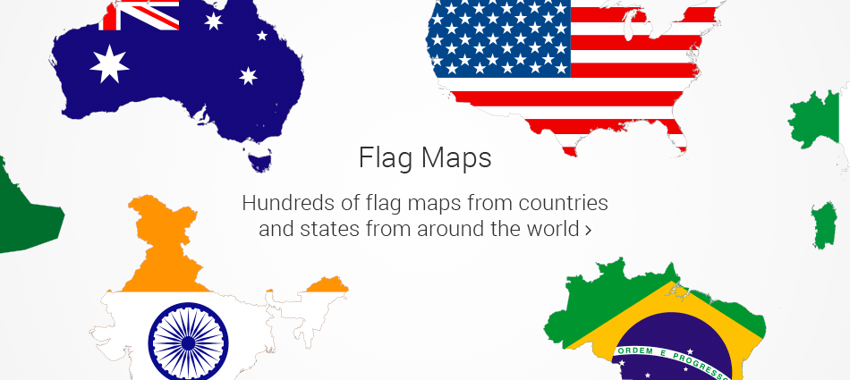 Map Of World Flags.Free Vector Maps Royalty Free Vector Maps