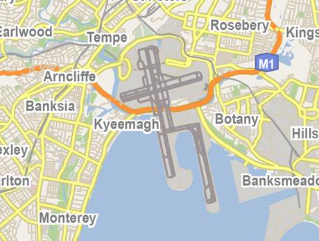Vector Map of Sydney