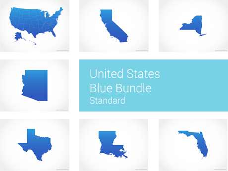 United States Blue - Standard