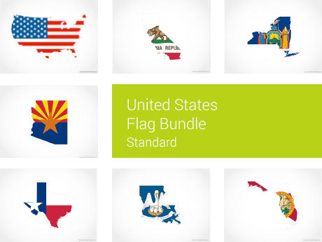 United States Flag Bundle - Standard
