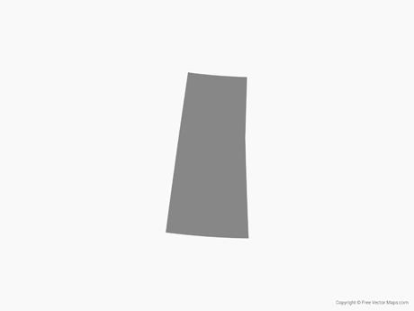 Map of Saskatchewan - Single Color