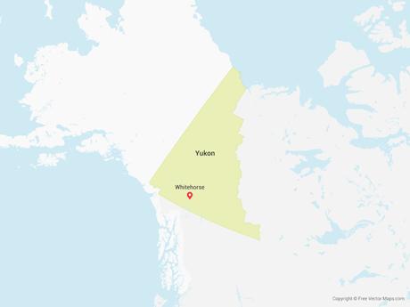 Map of Yukon