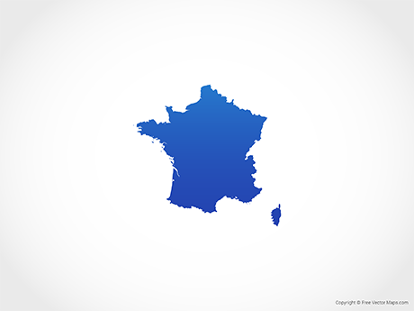 France Map Png.Vector Maps Of France Free Vector Maps
