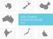 Asia, Oceania & Antarctic Bundle - Basic