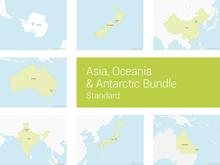 Asia, Oceania & Antarctic Bundle - Standard