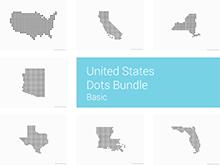 United States Dots - Basic