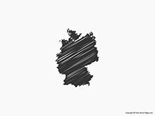 Map of Germany - Sketch