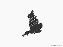 Map of England - Sketch