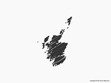 Map of Scotland - Sketch