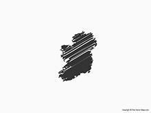 Map of Ireland - Sketch