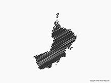 Map of Oman - Sketch