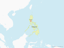 Free Vector Map of Philippines