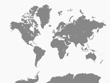 World Maps Free Vector Maps - Map of the wirld