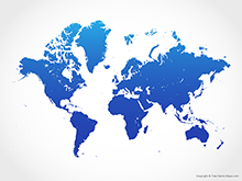 Vector world maps free vector maps map of world blue gumiabroncs Gallery